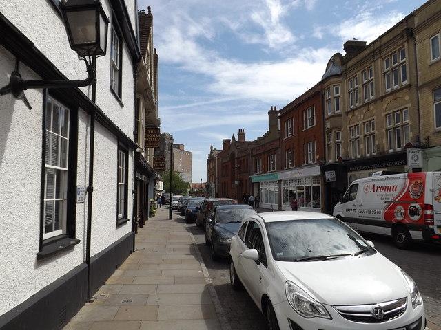 St.Peters Street, Ipswich