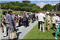 SH5269 : Queuing at the Antiques Roadshow, Plas Newydd by Jeff Buck