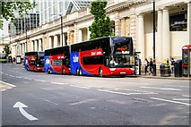 TQ2878 : Oxford Tube, Victoria Station by David Dixon