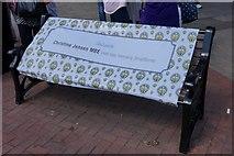 TA0827 : Bench dedicated to Christine Jensen MBE by Ian S