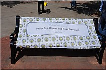 TA0827 : Bench dedicated to the Memory of Philip Gay by Ian S