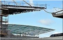 J3272 : New stands, Windsor Park, Belfast - June 2015(2) by Albert Bridge