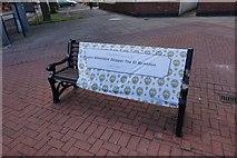 TA0827 : Bench dedicated to the Memory of James Wheeldon by Ian S