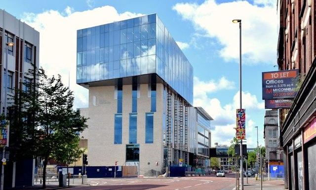 """Block """"B"""", University of Ulster site, Belfast - June 2015(2)"""