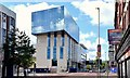 "J3374 : Block ""B"", University of Ulster site, Belfast - June 2015(2) by Albert Bridge"
