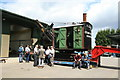 SK2406 : Statfold Barn Railway - Erie steam navvy by Chris Allen