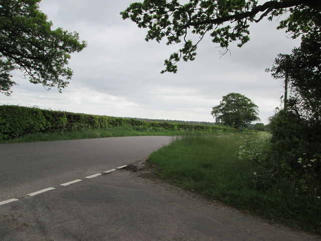 Road  junction  at  Burnthouse  Cross