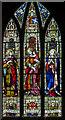 TF1340 : East window, St Andrew's church, Helpringham by J.Hannan-Briggs