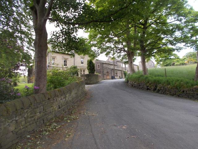 Dean Lane - viewed from Stubbing Lane