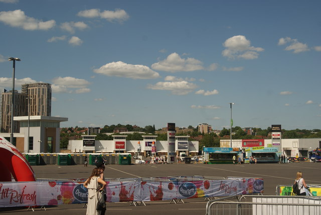 View of Wembley Retail Park from Engineer's Way