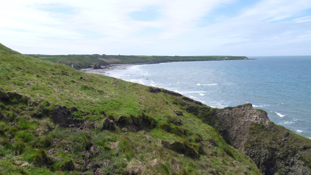 View to Traeth Penllech on the Wales Coast Path