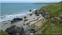 SH2035 : On the Wales Coast Path on Lleyn in May by Jeremy Bolwell