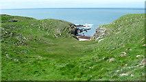 SH2035 : Little inlet on the Lleyn coastline by Jeremy Bolwell