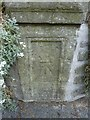 ST7747 : Benchmark on St John's Ambulance HQ, Frome by Becky Williamson