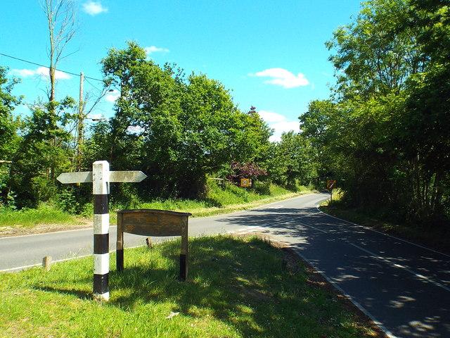 Fryerning Lane, near Ingatestone