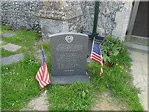 TG1441 : WW2 Aircraft crash Memorial at Upper Sheringham by Adrian S Pye