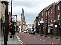 NZ2742 : The curiously named street called Claypath, City of Durham by Derek Voller