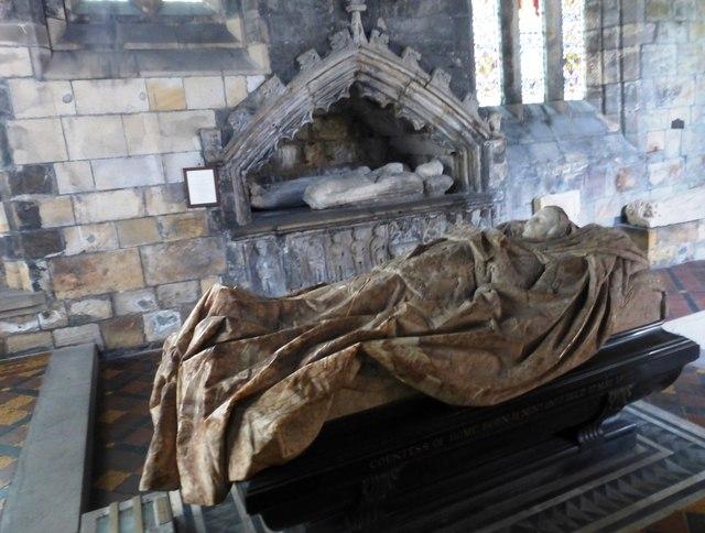 Lady Home effigy, Mausoleum of the Black Douglases
