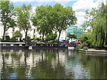 TQ2681 : Jessie - narrowboat in Little Venice by David Hawgood