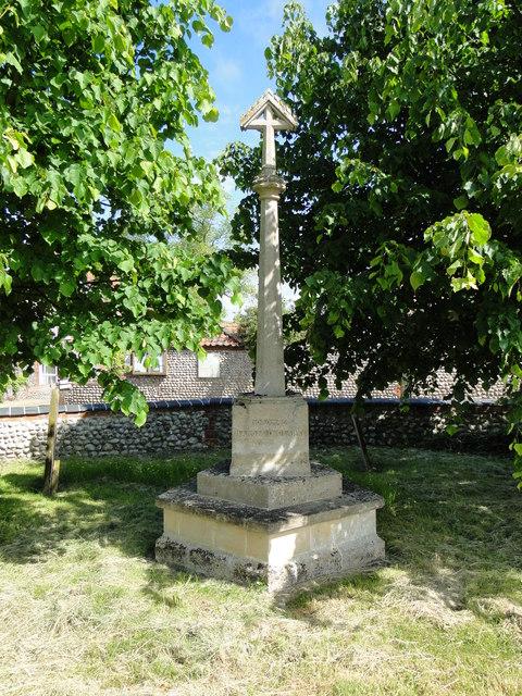 The War Memorial at Upper Sheringham
