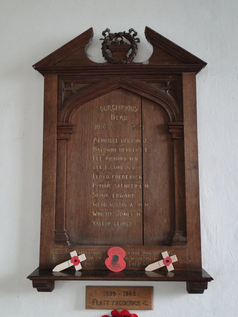 Woodton War Memorial
