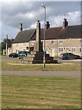 SP9676 : Woodford War Memorial by Dave Thompson