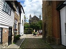 TQ9220 : West Street, looking towards St Mary's Church by Marathon