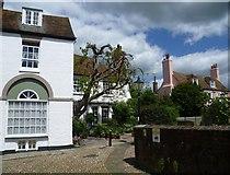 TQ9220 : A corner of Church Square, Rye by Marathon
