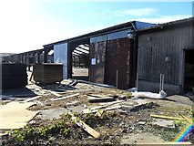 SO6401 : Dismantling the sheds by Gill