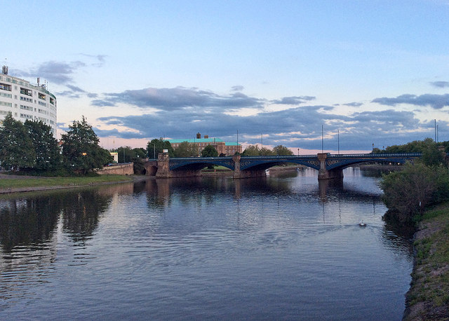 Trent Bridge twilight