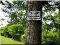 H5849 : Trespasser's notice, Augher Valley Gun Club by Kenneth  Allen