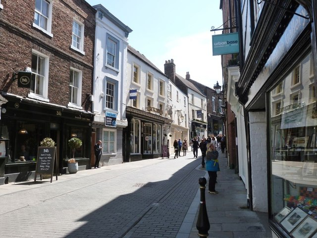Saddler Street,  Durham. Looking North