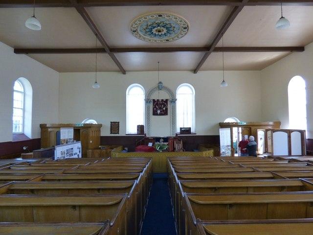 Inside Zion Chapel