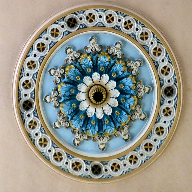 Zion chapel ceiling rose