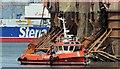 """J3676 : The """"Eileen McLoughlin"""", Belfast - June 2015(1) by Albert Bridge"""