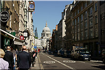 TQ3181 : Fleet Street, London by Peter Trimming
