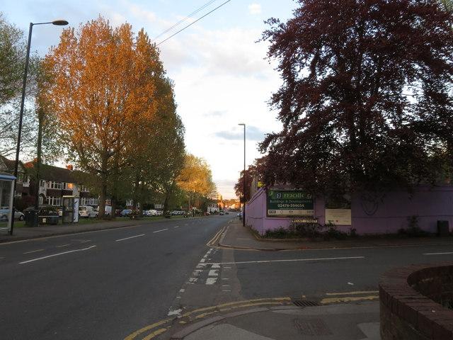 Along Allesley Old Road
