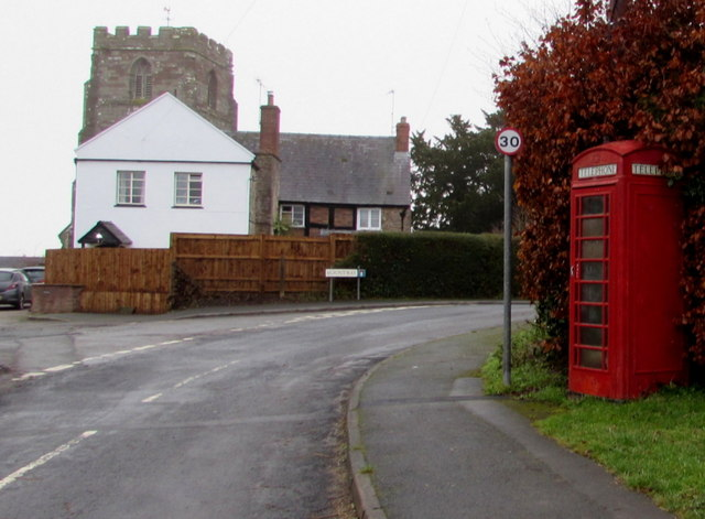 K6 telephone box in St Weonards