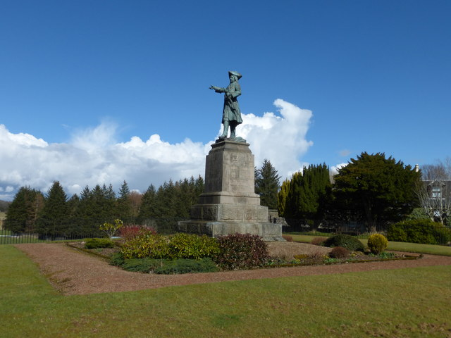 The Cameronians' Regimental Memorial