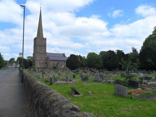 St Mary's church and graveyard