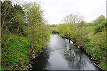 SJ7993 : The River Mersey near Sale by Bill Boaden