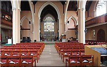 TQ2878 : St Michael, Chester Square - East end by John Salmon