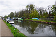 SJ7993 : The Bridgewater Canal near Stretford by Bill Boaden