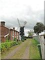 TG0702 : Wicklewood windmill by Adrian S Pye
