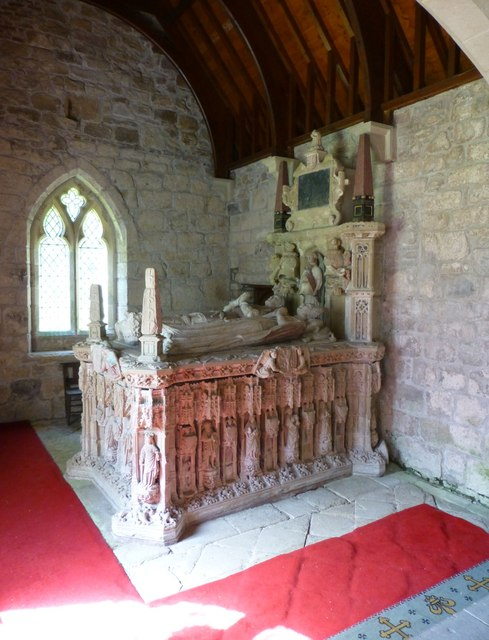 The 15th century tomb of Sir Ralph Grey