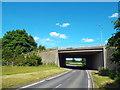 TL4701 : Motorway bridge near Epping by Malc McDonald
