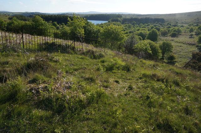 View towards Venford Reservoir