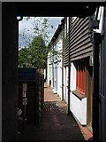 TQ4210 : English's Passage by David Anstiss