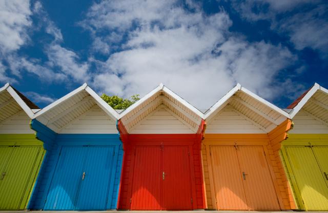 North Bay beach huts, Scarborough