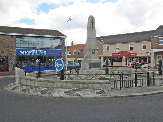 War Memorial, Seahouses